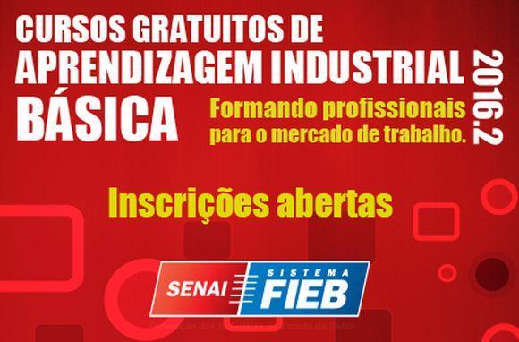 As inscrições são feitas via internet (Foto: Divulgação Senai Bahia)