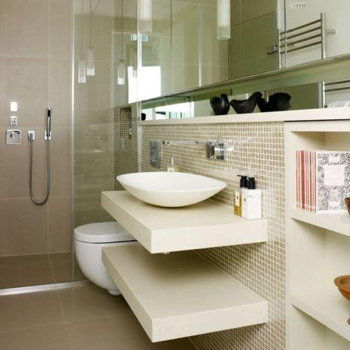 Decoração para banheiros pequenos 2017 fotos e tendências  MundodasTribos – -> Cuba Banheiro Tendencia