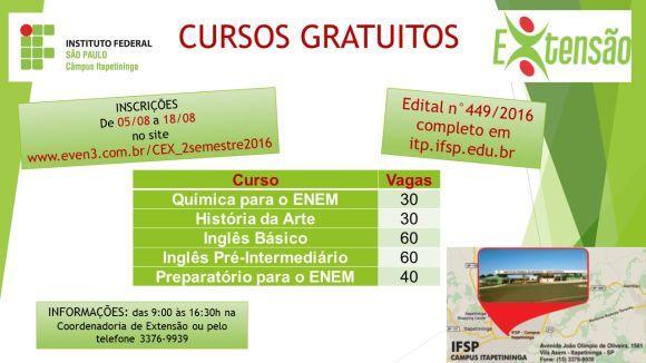 Ifsp cursos