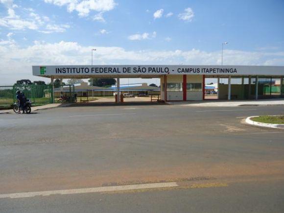 As aulas ocorrerão no campus do IFSP em Itapetininga (Foto: Divulgação IFSP)
