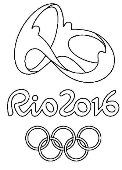 Imagens para colorir das Olimpíadas