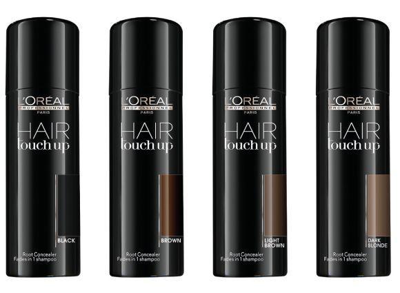 A nova maquiagem capilar da L'Oréal está disponível em quatro tons (Foto: Divulgação L'Oréal)