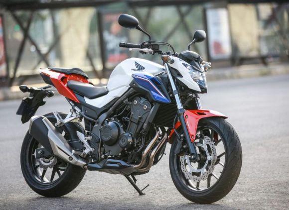 Honda CB 500F (Foto: Divulgação Honda)
