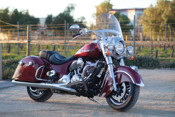 Indian Springfield (Foto: Divulgação Indian Motorcycle)