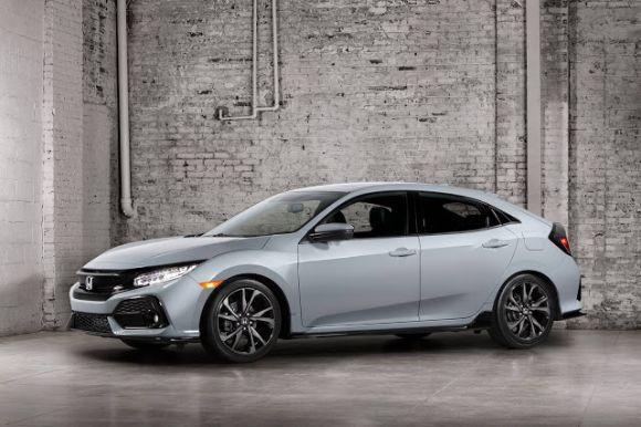 Novo Honda Civic hatch 2017