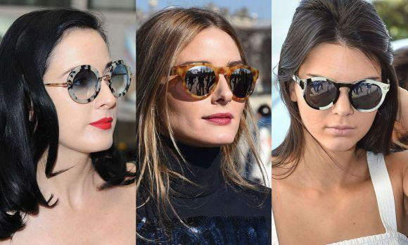 Óculos femininos tendências 2017 (Foto Ilustrativa)