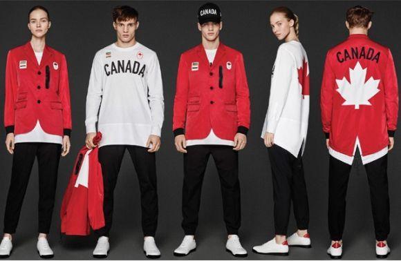 Os looks do Canadá também chamam a atenção (Foto: Divulgação)