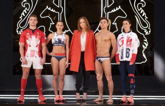 As roupas do Reino Unido foram criadas por Stella McCartney (Foto: Divulgação)