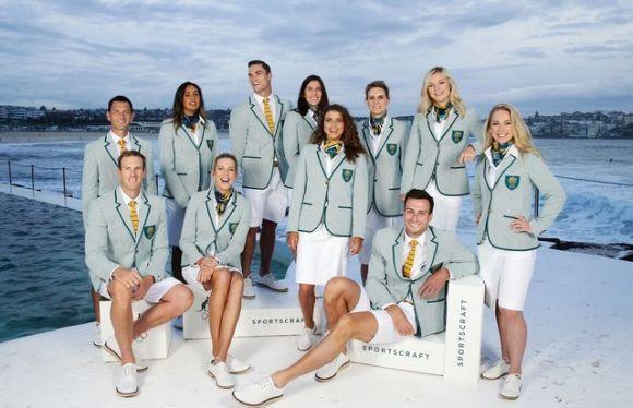 Vale destacar também o belo uniforme da Austrália (Foto: Divulgação)