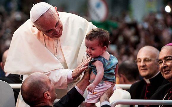 Em 2013, o Papa Francisco fez sua primeira visita ao Brasil (Foto Ilustrativa)