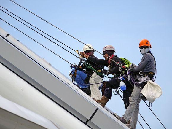 Um dos cursos em destaque é o de Segurança no Trabalho em Altura (Foto Ilustrativa)