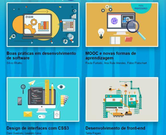 O projeto oferece ainda várias outras opções de cursos online (Foto: Divulgação TIM Tec)
