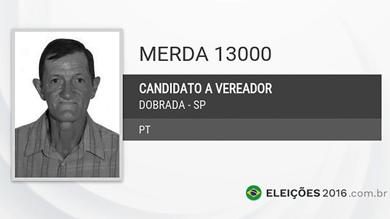 Merda (PT), Dobrada-SP. (Foto: Divulgação)