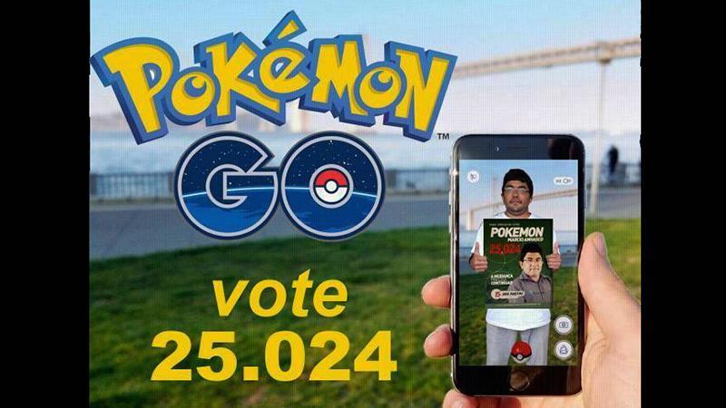 Marcio Anhasco Pokemon (DEM) (Foto: Divulgação)