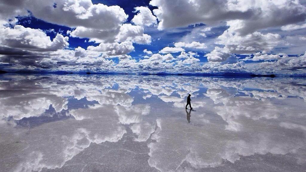 Salar de Uyuni, na Bolívia (Foto: Divulgação)
