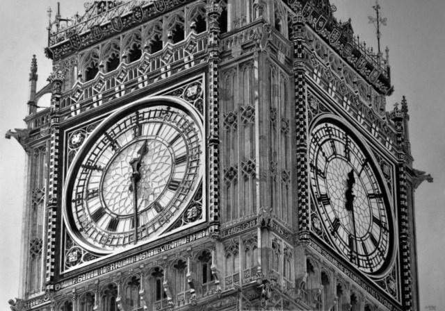 Keith Moore foi a autora desa ilustração perfeita do relógio mais famoso do mundo (Foto: Keith Moore)