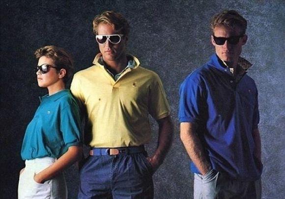 Muitos rapazes adoravam usar o colarinho levantado (Foto: Reprodução)