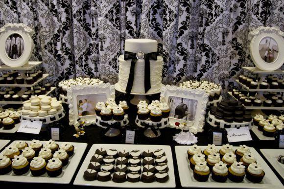 Há vários estilos de decoração para a mesa de doces (Foto Ilustrativa)