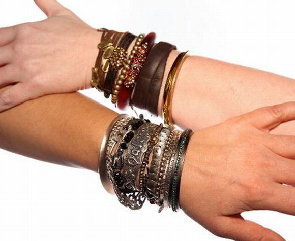 Quanto mais pulseiras, mais na moda você estará (Foto Ilustrativa)