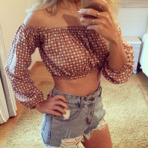 Blusa ciganinha (Foto: Reprodução Pinterest)