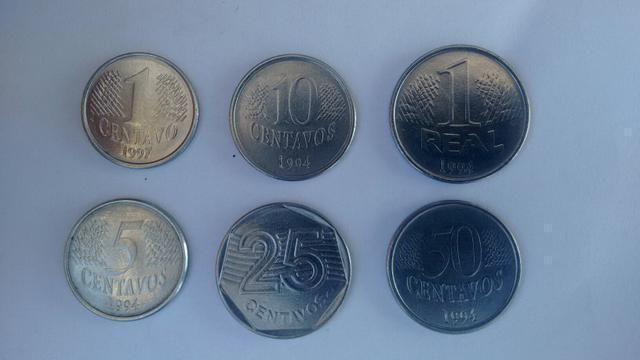 7 moedas do plano Real que pode te deixar rico