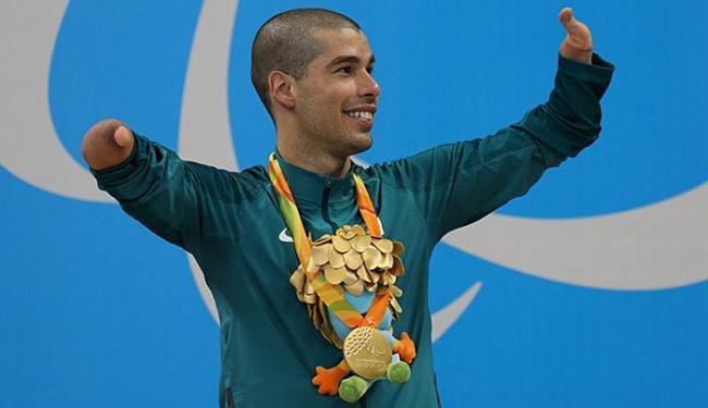Daniel Dias é o maior medalhista brasileiro e ainda tem chances de medalhas (Foto: Divulgação)
