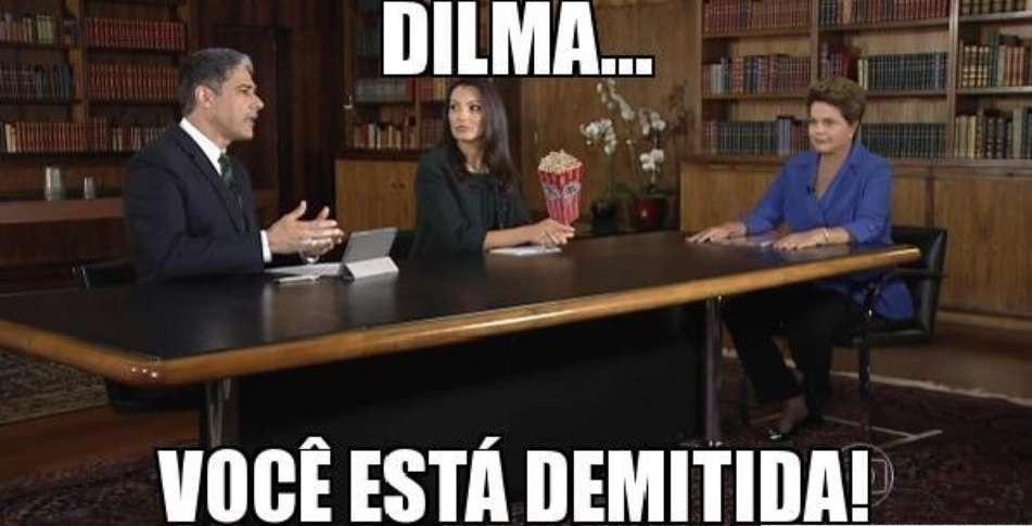 Melhores memes da queda da Dilma Rousseff
