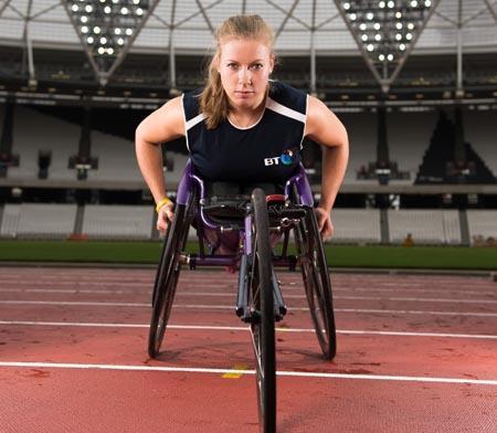 Hannah Cockroft musa paralimpica