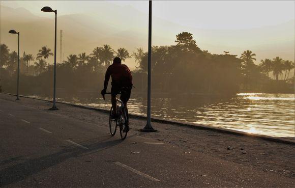 Andar de bicicleta é ótimo para a saúde (Foto Ilustrativa)
