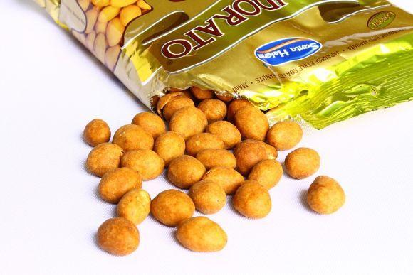 As versões industrializadas do amendoim devem ser consumidas com moderação (Foto Ilustrativa)