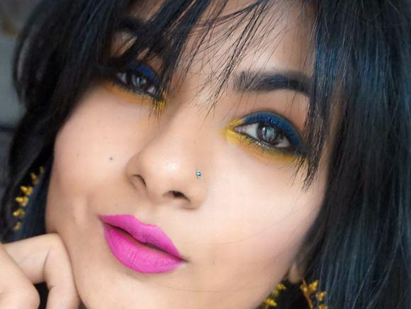 A mistura de cores na maquiagem cria looks incríveis (Foto Ilustrativa)