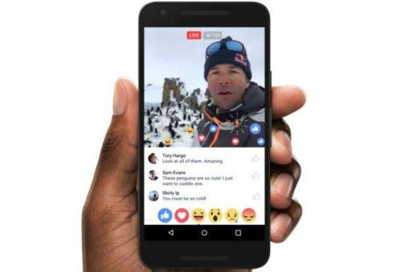 Antes restrita às celebridades, a transmissão ao vivo de vídeos no Facebook agora é liberada para todos (Foto: Reprodução Facebook)