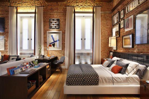 O estilo também cai bem no quarto (Foto Ilustrativa)