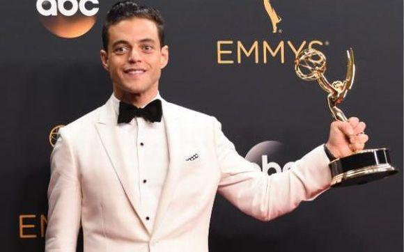 Rami Malek levou o prêmio de melhor ator de drama (Foto: Reprodução)