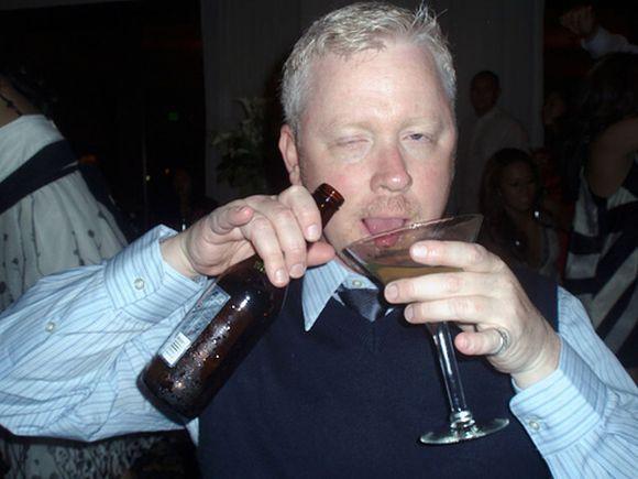 No próximo casamento que você for, evite beber demais (Foto Ilustrativa)