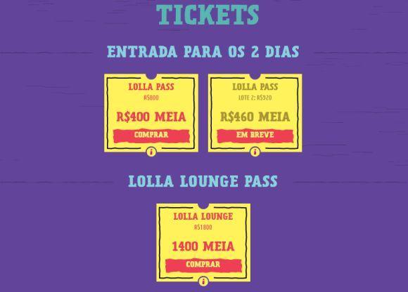 Os passaportes para o Lollapalooza 2017 já estão à venda (Foto: Divulgação Lollapalooza Brasil)