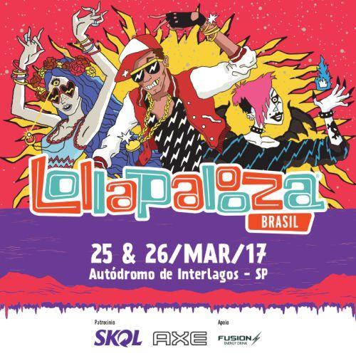Lollapalooza 2017: venda de ingressos (Foto: Divulgação Lollapalooza Brasil)
