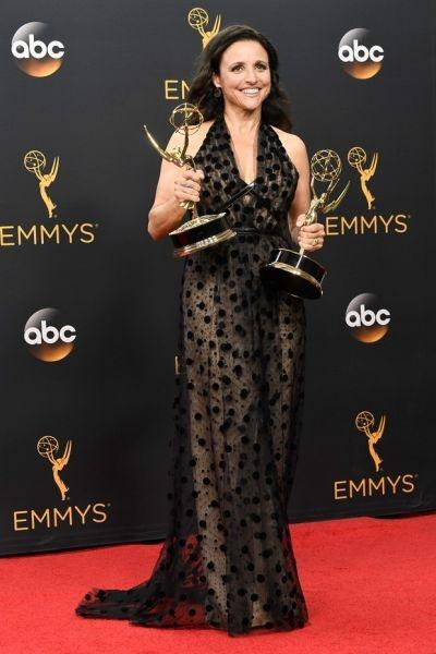 Julia Louis-Dreyfus (Foto: Reprodução Emmy Awards)