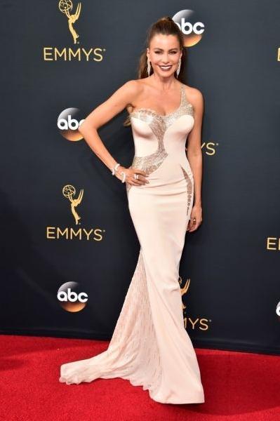 Sofia Vergara (Foto: Reprodução Emmy Awards)