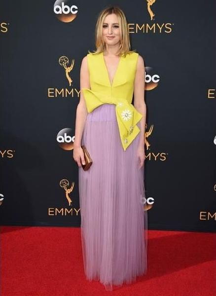 Laura Carmichael (Foto: Reprodução Emmy Awards)