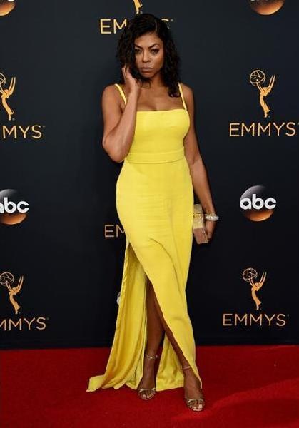 Taraji P. Henson (Foto: Reprodução Emmy Awards)