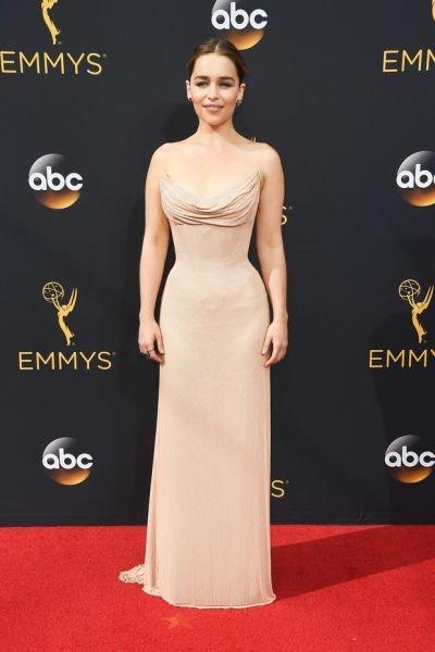 Emilia Clarke (Foto: Reprodução Emmy Awards)