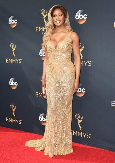Laverne Cox (Foto: Reprodução Emmy Awards)