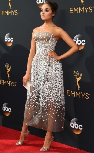 Olivia Culpo (Foto: Reprodução Emmy Awards)
