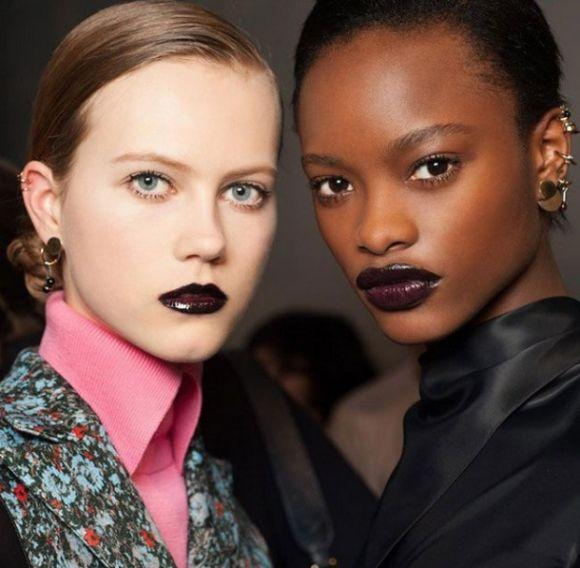 Maquiagem colorida tendências 2017
