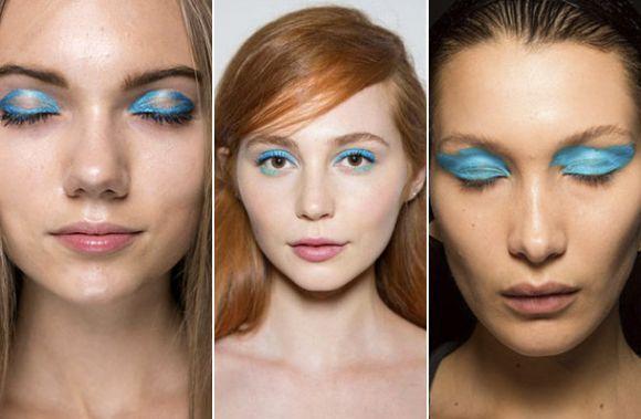 Maquiagem colorida tendências 2017 (Foto Ilustrativa)