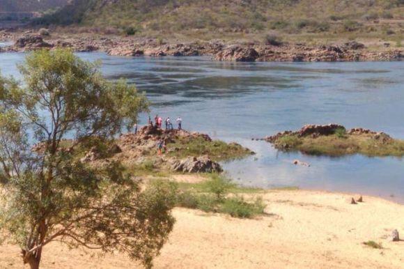 Região em que o ator desapareceu após mergulhar no Rio São Francisco (Foto: Reprodução internet)