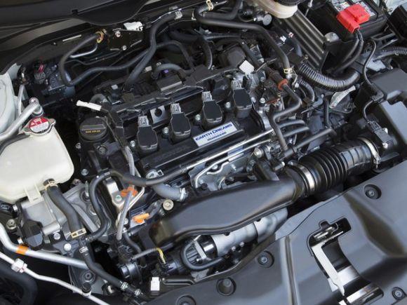 O novo motor 1.5 turbo é a principal novidade mecânica (Foto: Divulgação Honda)