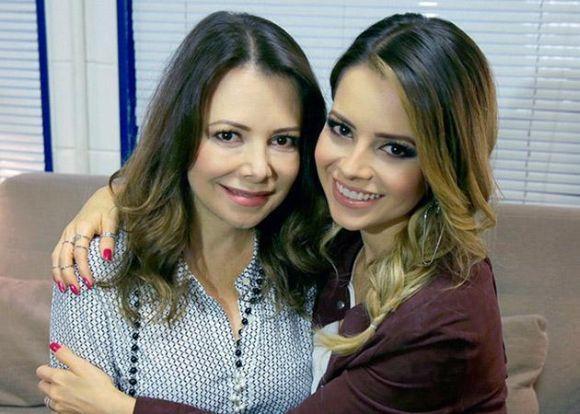 Noely e Sandy (Foto: Reprodução internet)