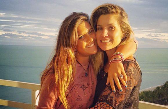 Giulia e Flávia Alessandra (Foto: Reprodução internet)